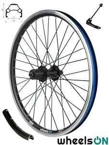 20 inch wheelsON Rear wheel QR 7/8/9 Speed Freehub Folding Bikes Eyelets Black