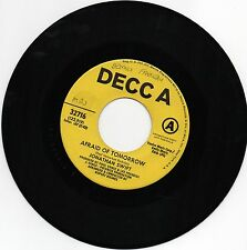 """Jonathan Swift Afraid of Tomorrow All the Young Women 7"""" 45 Promo 1970"""