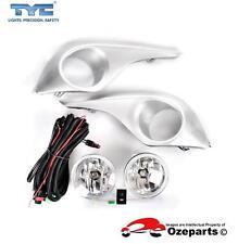 Full Set Fog Light Spot Driving Lamp KIT For Toyota Kluger GSU 40 Series 2 10~13