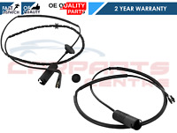 FOR MG ZT MGZT FRONT + REAR BRAKE PAD WEAR WIRE SENSOR LEAD PREMIUM BRAND