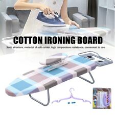 Folding Table Top Ironing Board + Mini Board For Apartment Spaces Dorm Portable