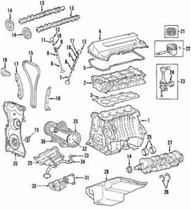 Genuine Ford Chain Guide 3L8Z-6K297-AA