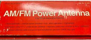NOS Radio Shack Realistic Car AM/FM POWER ANTENNA Cat.No.12-1323 1970's Japan