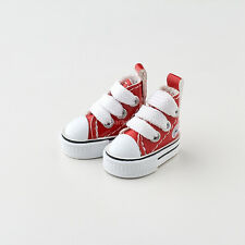 Neo Blythe Pullip Doll Leather Sneakers Micro Shoes - Red