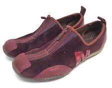 Merrell Womens Size 10 Barrado Zip Sneakers Dark Purple