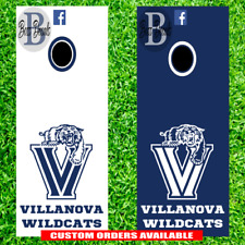 Villanova Wildcats Corn hole Set of 6 Vinyl Decal Stickers cornhole decals board