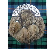 Sonstige Schottisch Kilt Sporran Seehund Leder Keltischer Knoten Antik Kleidung & Accessoires Formelle Keine Kostenlosen Kosten Zu Irgendeinem Preis