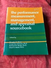 Performance, Measurement, Management, and Appraisal Sourcebook P/B Schneier