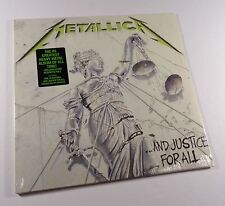 METALLICA ...And Justice For All 2xLP BLACK VINYL *SEALED* megadeth slayer