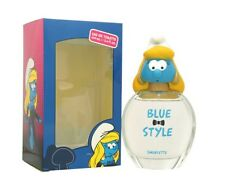 THE SMURFS BLUE STYLE SMURFETTE 3 D FOR GIRLS 3.4 OZ EDT SPRAY NEW IN BOX