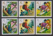 Bhutan - 1971, Boy Scout Movement set - Perf - MNH