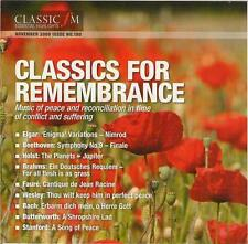 CLASSICS FOR REMEMBRANCE - CLASSIC FM CD (2009) WESLEY BUTTERWORTH FAURÉ