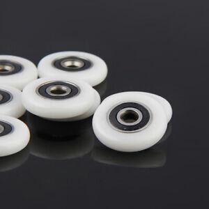 8 Stück Duschtür Rollen Räder Laufräder Ersatzteile 25mm Durchmesser