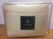 Brand New Ralph Lauren 450 Thread Count Twin Size Comforter Color Daffodil