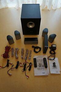 Komplets Teufel Surround-Sound System Concept E Magnum + Decoderstation3 wie Neu