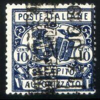 Regno d'Italia 1928 Recapito Autorizzato n. 2a usato - varietà (m2432)