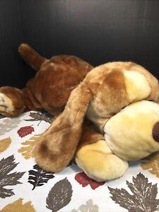 "VGUC-VINTAGE-24"" 2000 Animal Alley Darby Plush Stuffed Dog Toy Floppy Lovey"