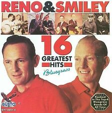 """DON RENO & RED SMILEY, CD """"16 GREATEST HITS"""" NEW SEALED"""