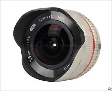Samyang 7.5mm Ultra Wide Angle Fisheye Lens for Panasonic GF2 GF3 G2 G3 GH2 +