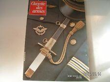 **d Gazette des armes n°105 Arc de cavalerie / Poignard de l'armée de l'air