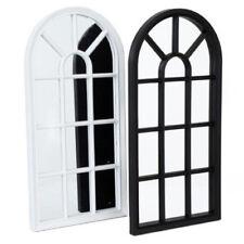 WINDOW STYLE MIRROR LIVING ROOM DECOR HALLWAY HOME PANEL WALL GLASS 70CM GARDEN