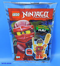 LEGO Ninjago Figurine 891723 Edition Limitée/Kai avec scie à chaîne feu/Polybag