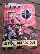 journal tintin 628 France (1960)  couv E P Jacobs BD ancienne avec chèque tintin