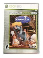 Ratatouille - (Microsoft Xbox 360, 2007) Mint, Rare, CIB, Disney Pixar, *TESTED*