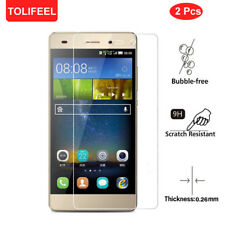 2Pack 9H Clear Tempered Glass Screen Protector Film For Huawei P8 Lite 2015