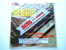 THE BEATLES - ' PLEASE PLEASE ME ' LP ( UK MONO GOLD 2ND ) WITH NEMS COVER
