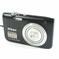 Nikon Coolpix S2800 Point and Shoot Digital Camera Black 5X Optical Zoom 20.1 Mp
