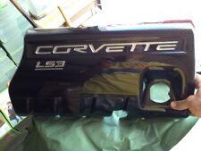 2008-2013 C6 Corvette & Grand Sport Fuel Rail Covers LS3 - Carbon Fiber