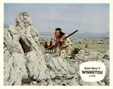 Winnetou 3. Teil ORIGINAL Aushangfoto Karl May / Pierre Brice / Lex Barker SUPER