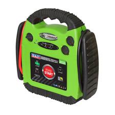Sealey RS1312HV Road Start Emergency Jump Starter 12V 900 Peak Amps Hi Vis Green