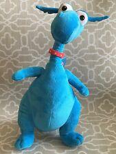 "Disney Just Play Doc McStuffins Talking Stuffy 15"" Plush Blue Dragon"