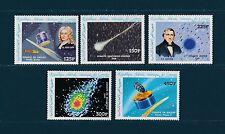 Comores république  comète de Halley    1986  poste aérienne  **