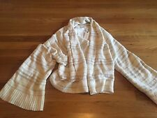 NWT Women's Anthropologie Cream Bell Sleeve Cardigan Sweater - Size M - So Soft!