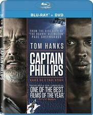 Brand New Captain Phillips (Blu-ray + DVD + Digital HD Copy) 2014