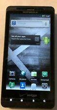 Motorola Droid X (Verizon) Black CDMA MB810 Good Used Vintage NO Activation