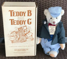 1984 D&D Productions Teddy G Limited Edition Bear #194G Singed In Original Box