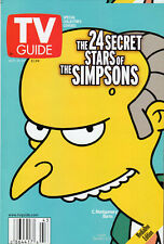 2000 TV Guide - The Simpsons - Burns - Big Brother - Tim Russert - Eminem