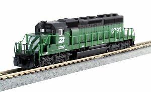 KATO 1764960 N Scale EMD SD40-2 Burlington Northern #6792 DC 176-4960  NEW