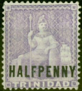 Trinidad 1879 1/2d Mauve SG99a Wmk Sideways Fine Unused