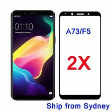 2X Full Coverage Tempered Glass Screen Protector Oppo A73 R15 R15 Pro