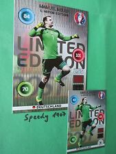 Panini Adrenalyn euro 2016 Limited Edition XXL nuevos Alemania Germany