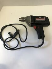 Vintage Sears Craftsman Corded Power Drill 3/8� Reversible Variable Speed
