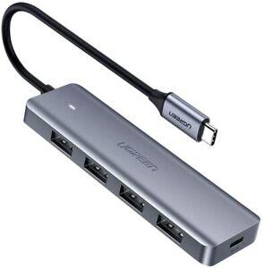 UGREEN HUB USB TIPO C - 4 PUERTOS USB 3.0 5Gbps - CONCENTRADOR - USB-C - NUEVO