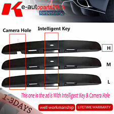 Fit Nissan Dualis J10 Tailgate Door Handle Garnish Cover Moulding With Cam Hole