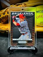 Mike Trout RC•Lot 2•Rookie Cards•Panini Prizm•Gem Mint•Rare•Pop•Angels Red•#1