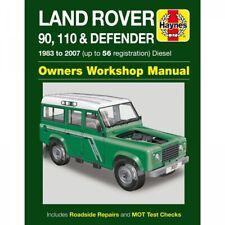 Land Rover 90 110 Defender 1983-2007 Diesel Gelände Reparaturanleitung Haynes